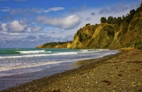 Beach_at_Gore_Bay;Hurunui;Gore_Bay;Alpine_Pacific_Triangle;coast_road;tunnels;ro