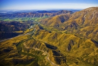 Aerial;Arthurs_Pass_Route_Canterbury;mountains;hills;Lakes;Waimakariri_River;tus