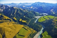 Aerial;Waimakariri_River;Canterbury;mountains;hills;Canterbury_Plain;North_Cante