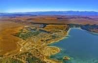 Aerial;Lake_Tekapo;South_Canterbury;Canterbury;LakeTekapo_township;Lake_Pukaki;h