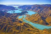 Aerial;Mackenzie_Basin;South_Canterbury;Canterbury;Lake_Benmore_Dam;Lake_Benmore