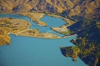 Aerial;Mackenzie_Basin;South_Canterbury;Canterbury;Lake_Benmore;Lake_Benmore_Dam