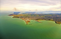 Aerial;Timaru;South_Canterbury;Canterbury;dock;Harbour;ships;logs;stubble_fires;