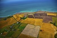 Aerial;Timaru;South_Canterbury;Canterbury;Timaru_Lighthouse;stubble_paddocks;pad