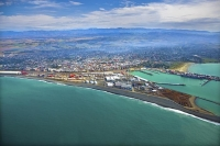Aerial;Timaru;South_Canterbury;Canterbury;dock;Harbour;ships;logs;Timaru_Harbour