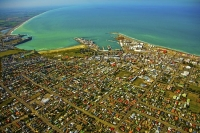 Aerial;Timaru;South_Canterbury;Canterbury;dock;Harbour;ships;logs;city_centre