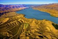 Aerial;Waitaki_Valley;South_Canterbury;Canterbury;Lake_Aviemore;Lake_Waitaki