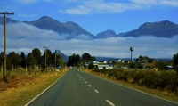 Lake_Manapouri;Fiordland;mountains;hills;rivers;Road;State_Highway_95;bush;nativ
