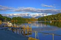 Lake_Manapouri;Fiordland;mountains;hills;rivers;Road;State_Highway_95;bush;nativ