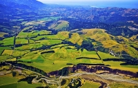 Aerial;Inland_Kaikoura_Road;Kaikoura;bush;native_forest;Kahutara_River;seaward_K