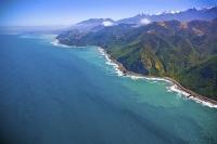 Aerial;Kaikoura_Coast;Kaikoura;bush;native_forest;seaward_Kaikoura_Range;green_f