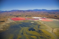 Aerial;Lake_Grassmere;Marlborough;salt_works;evaporation_ponds;salt_production;L