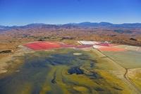 Aerial;Lake_Grassmere;Marlborough;salt_works;evaporation_ponds;salt_production;L