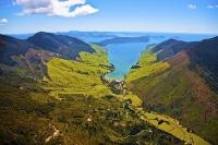Aerial;Marlborough_Sounds;Marlborough;bush;native_forrest;hills;mountains;Anakoh
