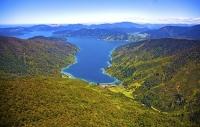 Aerial;Marlborough_Sounds;Marlborough;bush;native_forrest;hills;mountains;Endevo