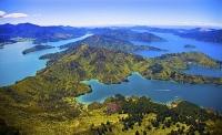 Aerial;Marlborough_Sounds;Marlborough;bush;native_forrest;hills;mountains;Lockma
