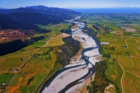 Aerial;Wairau_Valley;Marleborough;bush;native_forrest;irrigation_canal;irrigatio