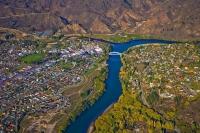 Aerial;Alexandra;Otago;Clutha_River