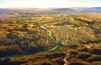 Aerial;Alexandra;Clyde;Otago;Clutha_River;Alexandra;Clyde_Dam