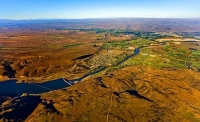 Aerial;Alexandra;Clyde;Otago;Clutha_River;Clyde_Dam
