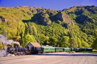 Kingston;Otago;Kingston_Flyer;Rail_line;steam_engine;steam_train;station;railway