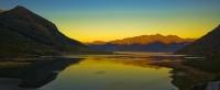 Lake_Hawea;Otago;lake_Wanaka;Hawea_River;Lake_Hawea;the_Neck;Sunset;State_Highwa