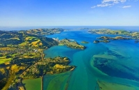 Aerial;Port_Chalmers;Otago_Peninsula;Otago;harbour;golden_sands