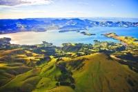 Aerial;Portobello;Otago_Peninsula;Otago;harbour;golden_sands;Heritage_Museum;l