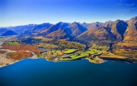 Aerial;Lake_Wakatipu;Otago;Glenorchy;Rees_River;Rees_Valley;airfield;Blanket_Bay