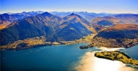 Aerial;Queenstown;Lake_Wakatipu;Otago;autumn_colour;fall_colors;Aerial