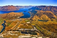 Aerial;Queenstown;Lake_Wakatipu;Otago;autumn_colour;fall_colors;Queenstown_Airpo