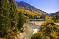 Queenstown;Lake_Wakatipu;Otago;autumn_colour;fall_colors;Jet_boat;rides;Shotover