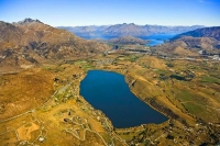 Aerial;Lake_Hayes;Queenstown;Lake_Wakatipu;Otago;autumn_colour;fall_colors