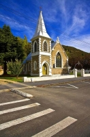 Roxburgh;Otago;lake_Roxburgh;Clutha_River;church;churches;fruit_growing;Teviot_U