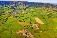 Aerial;Tapanui;Otago;Stuarts_Lumber;sheep;sheep_country;sheep_farming;Blue_Mount