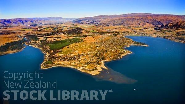 Aerial;Wanaka;Otago;lake Wanaka;Clutha River;Hawea River;Iron Mountain;airport;Cardrona;Roys peninsula;Beacon Pt;waterfront;subdivision