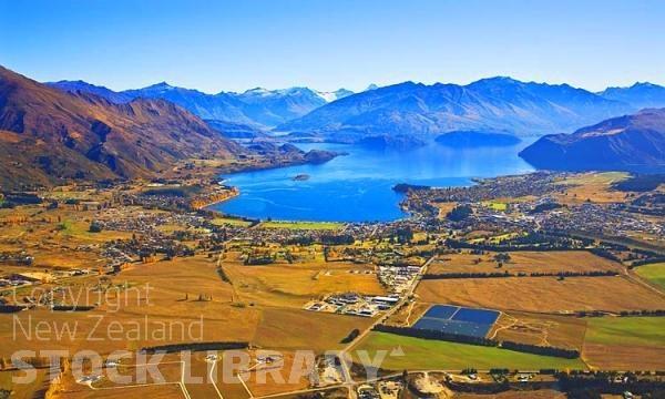 Aerial;Wanaka;Otago;lake Wanaka;Clutha River;Hawea River;Iron Mountain;airport;Cardrona;Roys peninsula;fall colors;autumn colours