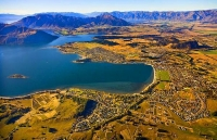 Aerial;Wanaka;Otago;lake_Wanaka;Clutha_River;Hawea_River;Iron_Mountain;airport;C