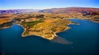 Aerial;Wanaka;Otago;lake_Wanaka;Clutha_River;Hawea_River;Iron_Mountain;airport;C