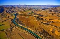 Aerial;Wanaka;Otago;lake_Wanaka;Clutha_River;airport;Luggate