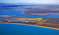 Aerial;Bluff;Southland;Aluminium_Smelter;Tiwai_Point
