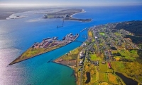 Aerial;Bluff;Southland;Bluff_Town;Harbour;Tiwai_Point;Awarua_Bay;Aluminium_Smelt