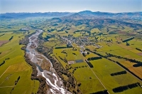 Aerial;Gore_to_Te_Anau;Southland;mountains;hills;rivers;Road;bush;native_forrest