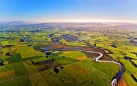 Aerial;Mataura;Southland;hills;rivers;state_highway1;Dairy_farm;dairy_farming;gr