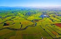 Aerial;Riverton;Southland;hills;rivers;state_highway99;Dairy_farm;dairy_farming;