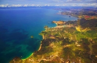 Aerial;Kaiteritiri;Tasman_Bay;native_forrest;forest_track;tramping_track;tramper