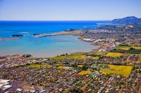 Aerial;Richmond;Tasman_Bay;Waimea_Inlet;industry;industrial_buildings;church;chu