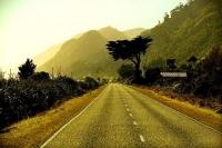 Granity;West_Coast;cliffs;bluffs;blue_sky;blue_sea;bush;native_forrest;Rail_line