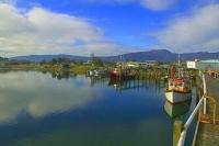 Westport;West_Coast;harbour;Buller_river;Tasman_Sea;fishing_port;fishing_boat