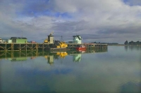 Westport;West_Coast;harbour;Buller_river;Tasman_Sea;fishing_port;tug_boat